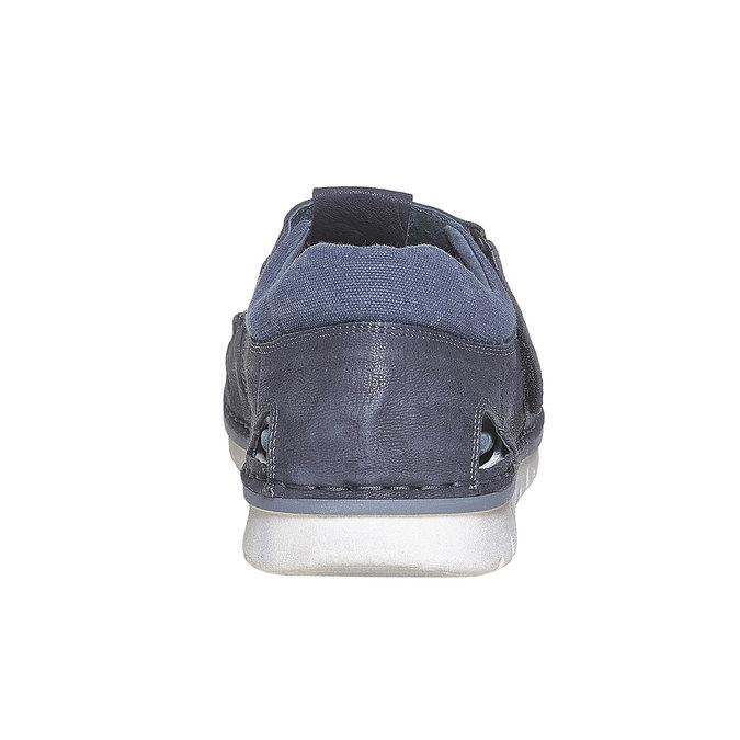 Sandale en cuir homme weinbrenner, Bleu, 864-9267 - 17