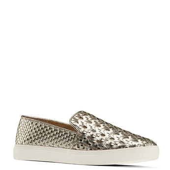 Slip-on dorée femme north-star, Jaune, 541-8324 - 13