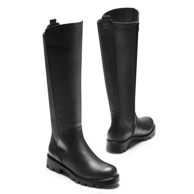 BATA Chaussures Femme bata, Noir, 591-6160 - 19
