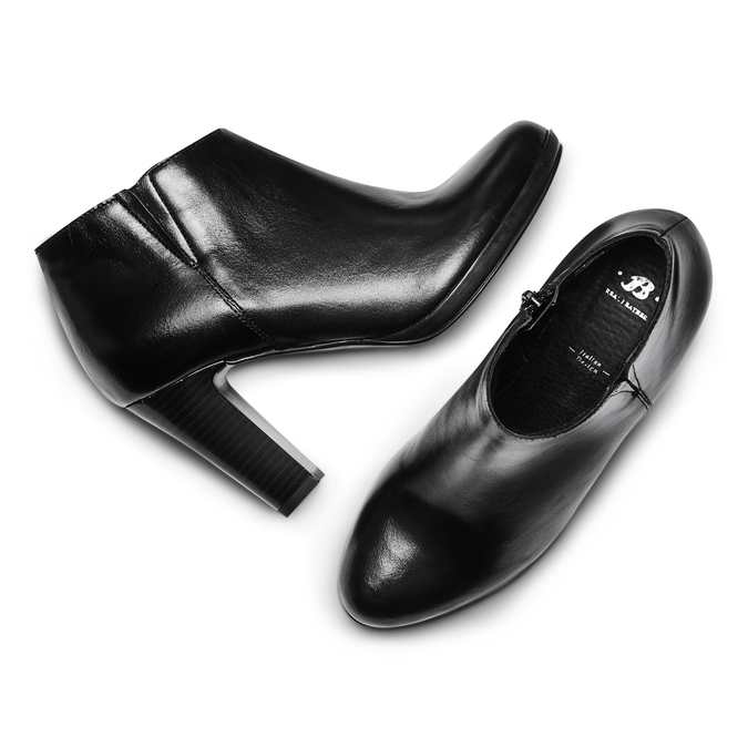 Women's shoes bata, Noir, 794-6671 - 26