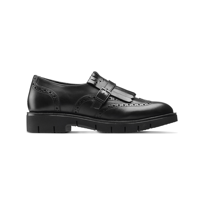 Women's shoes bata, Noir, 514-6395 - 26