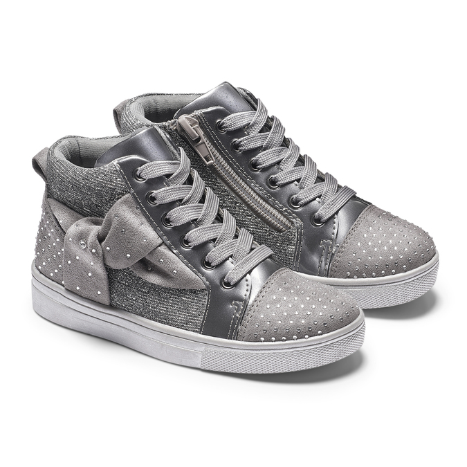 Childrens shoes mini-b, Gris, 229-2205 - 19