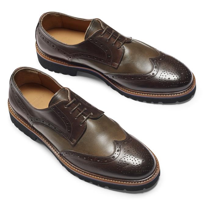 Men's shoes bata-the-shoemaker, Brun, 824-4186 - 19