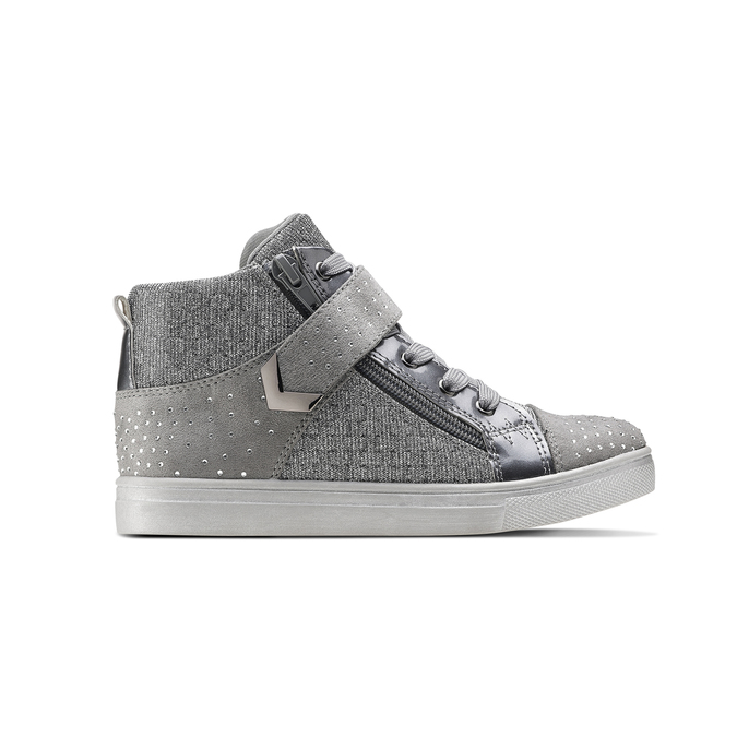 Childrens shoes mini-b, Gris, 329-2303 - 26