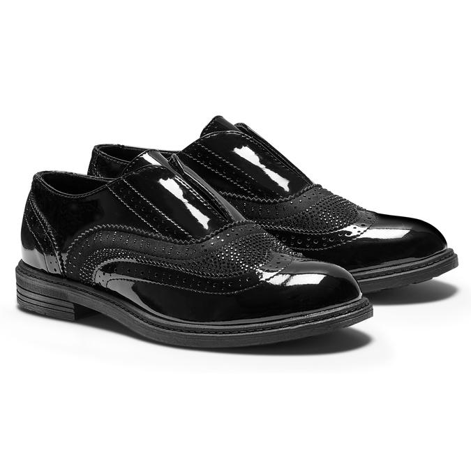 Childrens shoes mini-b, Noir, 321-6201 - 19