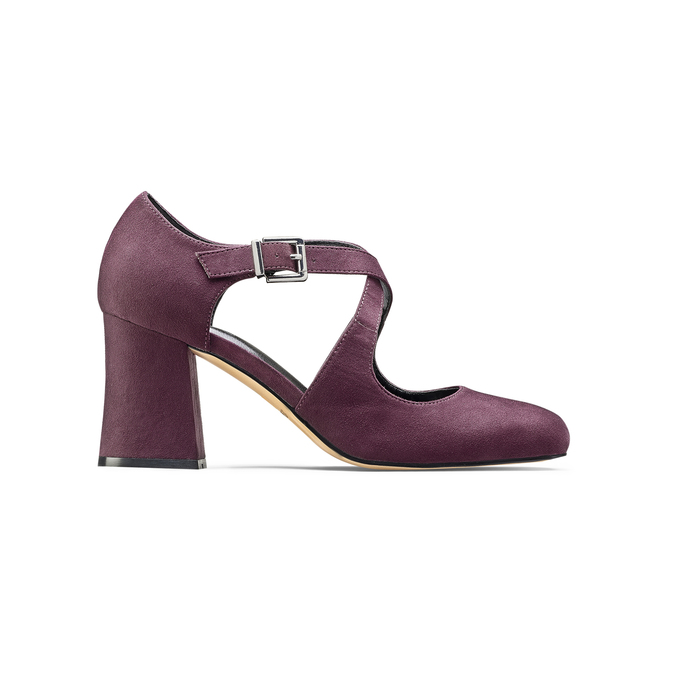 Women's shoes insolia, Rouge, 729-5975 - 26