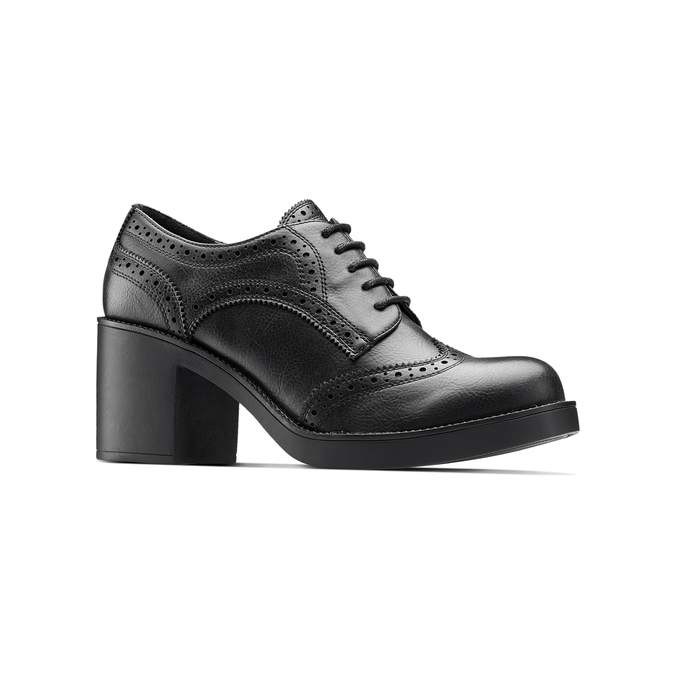 Women's shoes bata, Noir, 621-6156 - 13