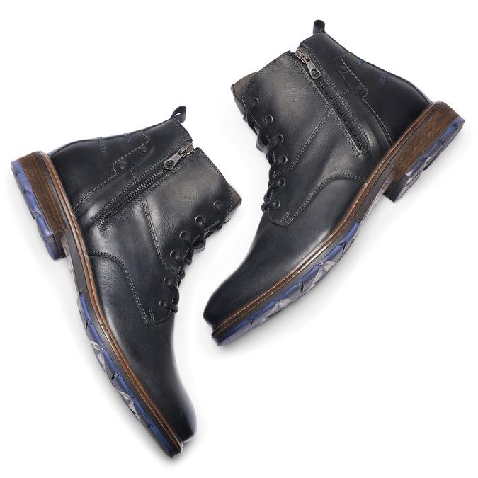 Men's shoes bata, Noir, 894-6718 - 19