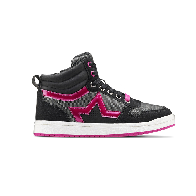 Childrens shoes mini-b, Noir, 321-6291 - 26