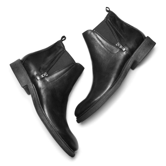 Men's shoes bata, Noir, 894-6739 - 19