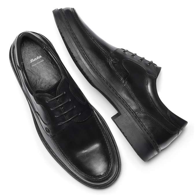 Men's shoes, Noir, 844-6734 - 19