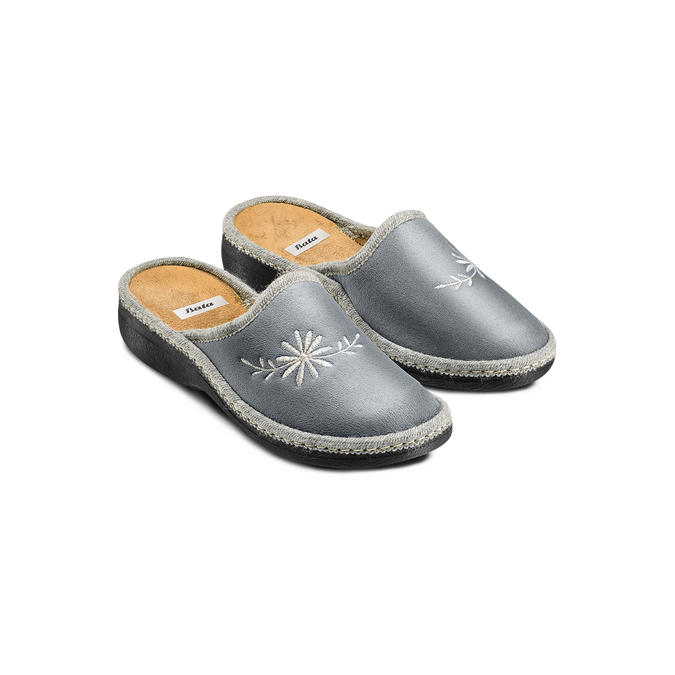 Women's shoes bata, Gris, 579-2280 - 16