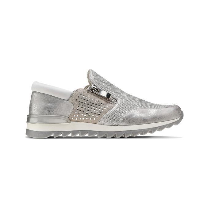 Childrens shoes mini-b, Blanc, 329-1298 - 26