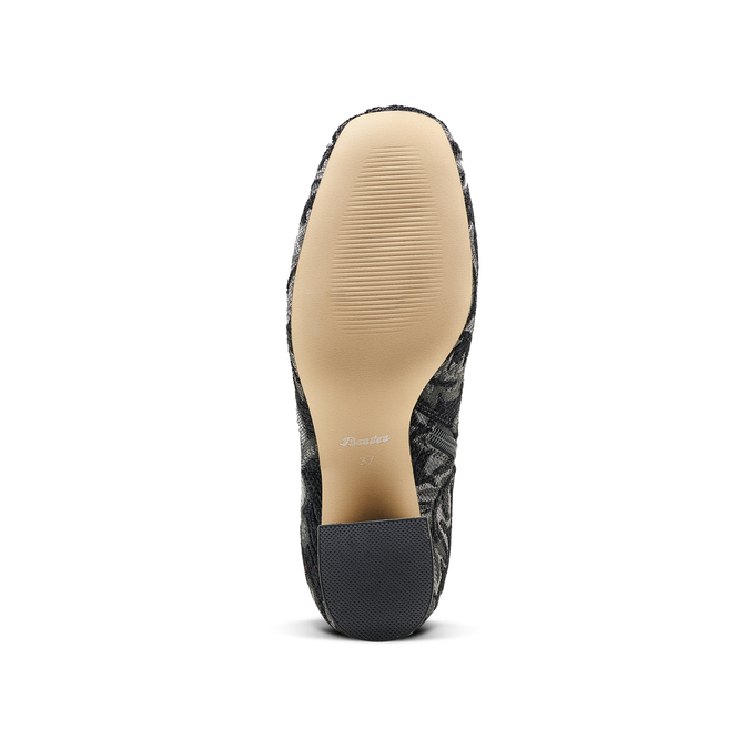 Women's shoes bata, Noir, 799-6171 - 17