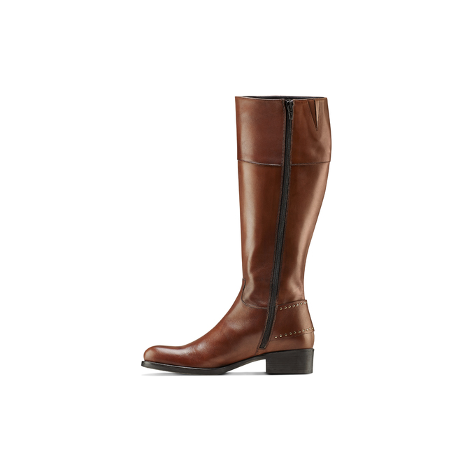 Women's shoes bata, Brun, 594-3427 - 16