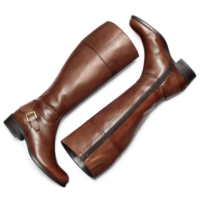 Women's shoes bata, Brun, 594-3427 - 19