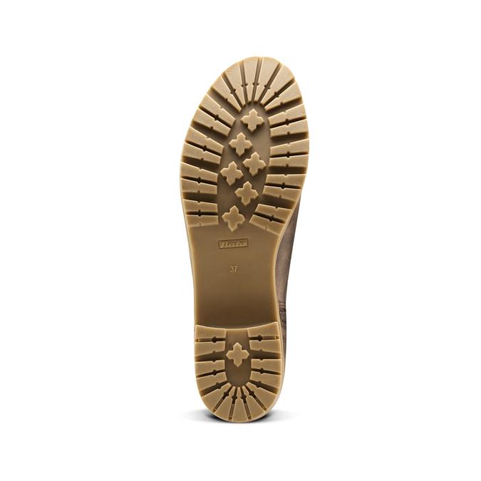 Women's shoes bata, Brun, 691-4451 - 17