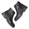 Women's shoes bata, Noir, 591-6155 - 19