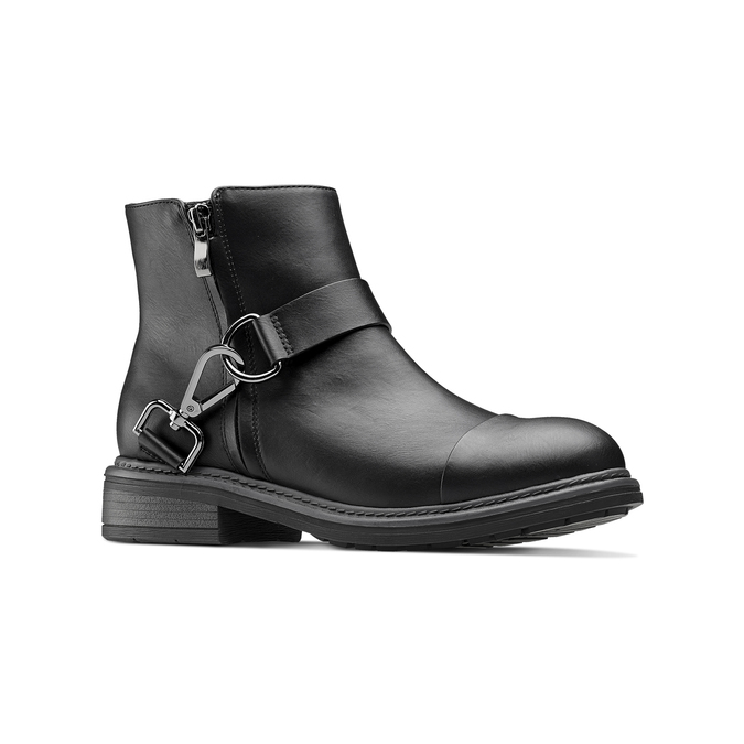 Women's shoes bata, Noir, 591-6155 - 13