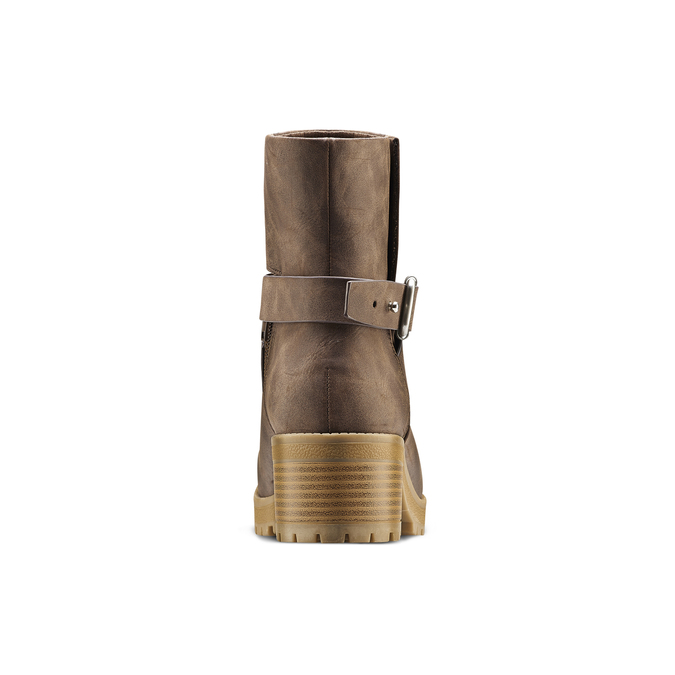 Women's shoes bata, Brun, 691-4451 - 16