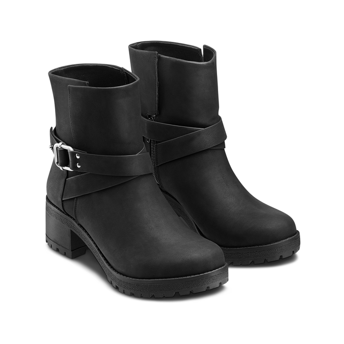 Women's shoes bata, Noir, 691-6451 - 16