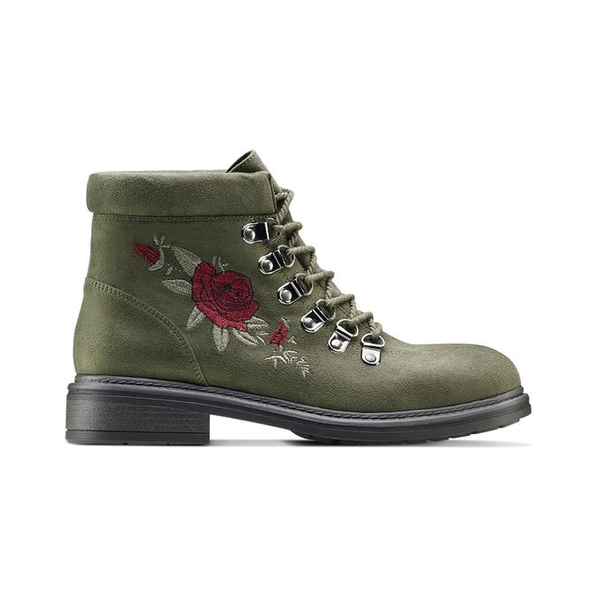 BATA Chaussures Femme bata, Vert, 599-7183 - 26