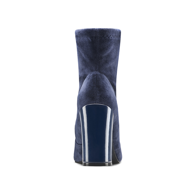 Women's shoes bata, Bleu, 799-9648 - 16