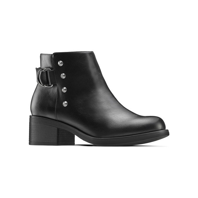 Women's shoes bata, Noir, 691-6427 - 13