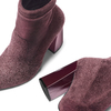 Women's shoes bata, Rouge, 799-5648 - 19
