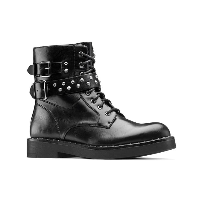 Women's shoes bata, Noir, 591-6141 - 13