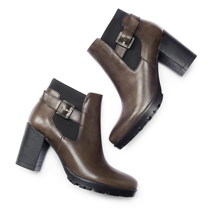 BATA Chaussures Femme bata, Gris, 794-2297 - 19