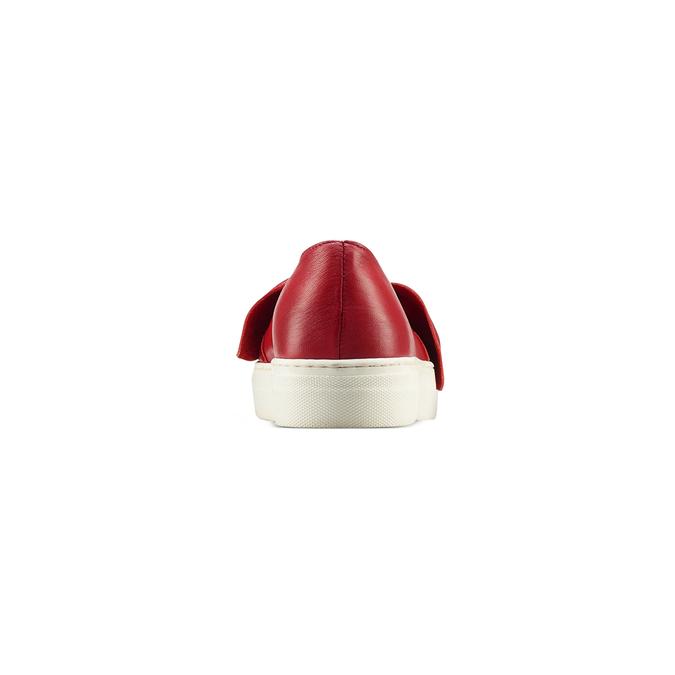 Slip-on rouge femme north-star, Rouge, 514-5264 - 16