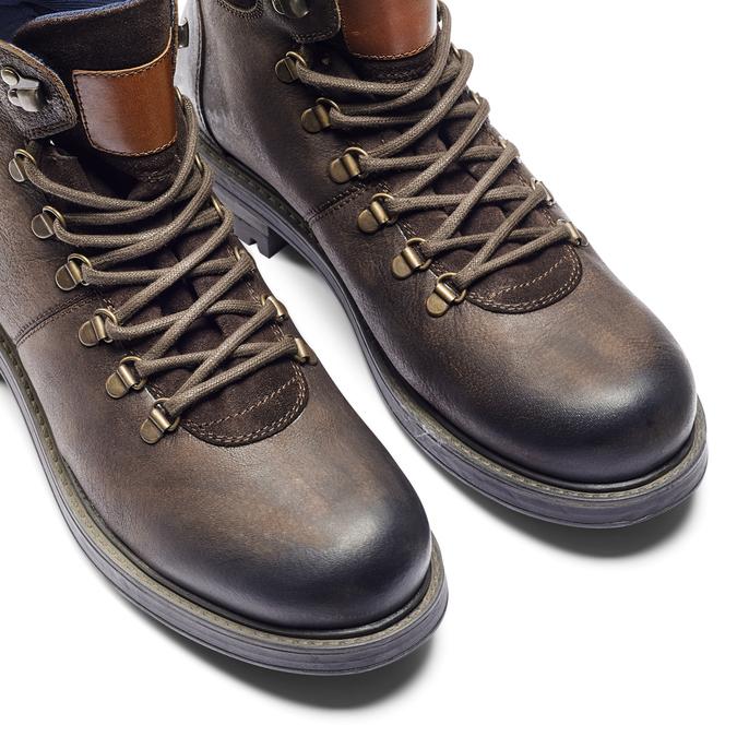 Men's shoes bata, Brun, 894-4136 - 15