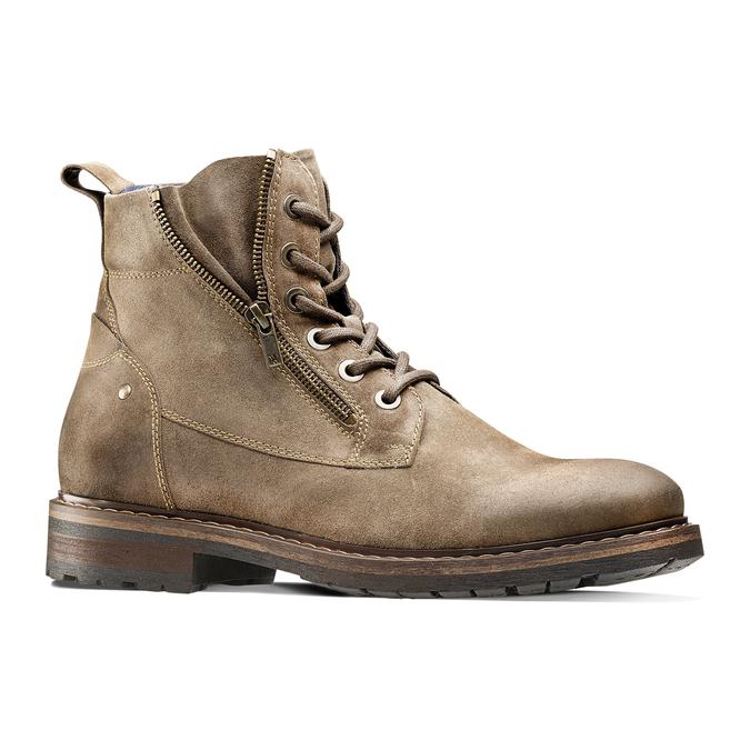 Men's shoes bata, Brun, 893-3137 - 13