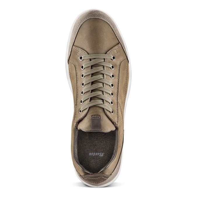 Men's shoes bata, Brun, 846-4105 - 15