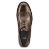 Chaussure lacée en cuir pour homme style Derby bata, Brun, 824-4429 - 15