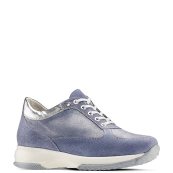 Women's shoes bata, Bleu, 523-9306 - 13