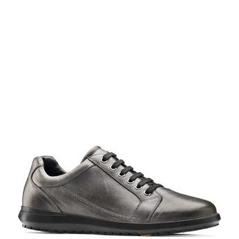 Men's shoes flexible, Gris, 844-3709 - 13
