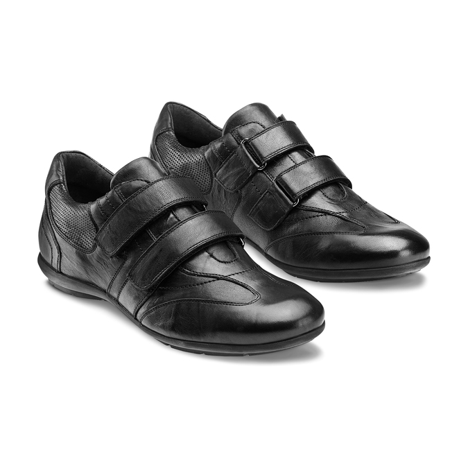 Men's shoes bata, Noir, 844-6140 - 16