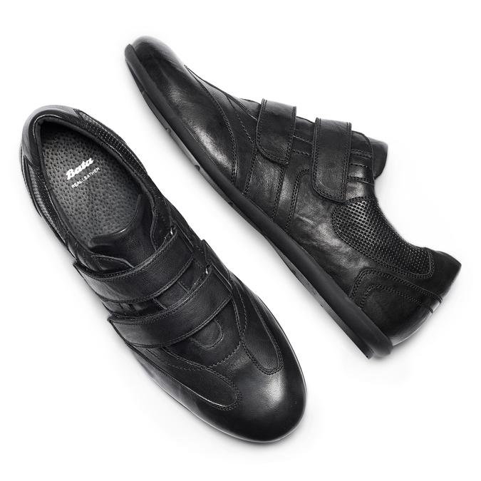 Men's shoes bata, Noir, 844-6140 - 26