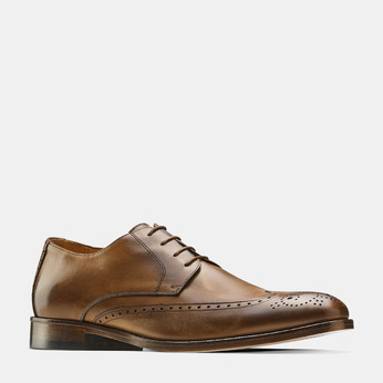 Men's shoes bata-the-shoemaker, Brun, 824-4342 - 13