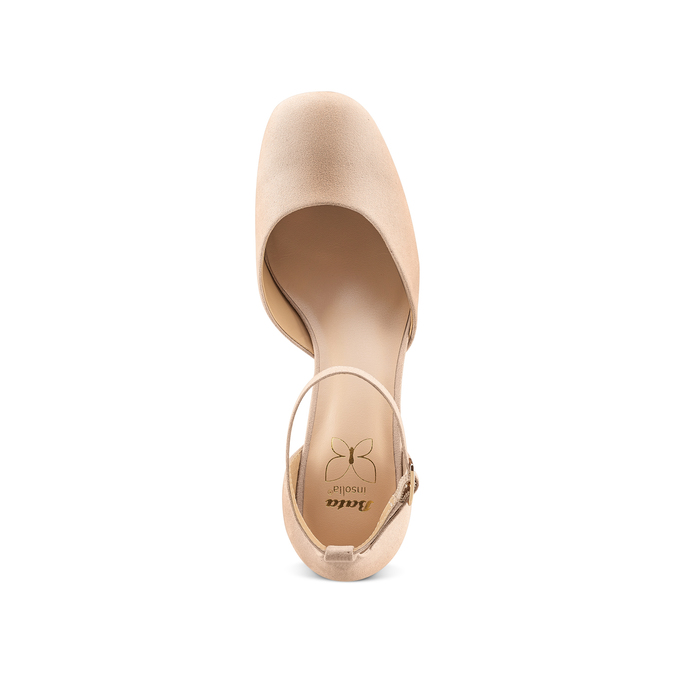 Women's shoes insolia, Beige, 729-5208 - 17