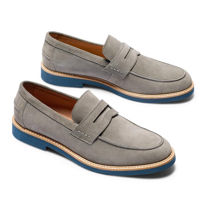 Men's shoes bata-light, Gris, 813-2163 - 26