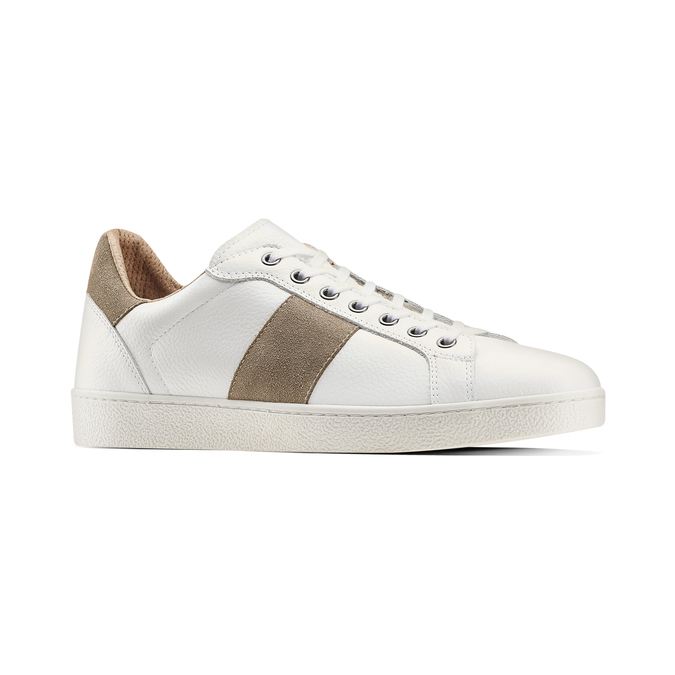 Men's shoes, Blanc, 844-1157 - 13