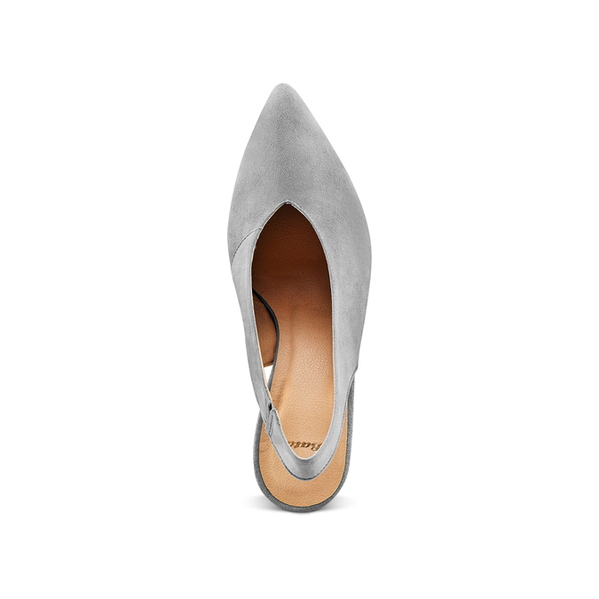 Women's shoes bata, Gris, 723-2248 - 17