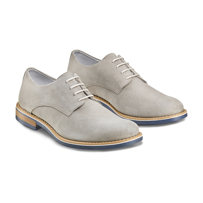 Men's shoes bata, Gris, 823-2307 - 16