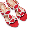 Women's shoes insolia, Rouge, 669-5297 - 26