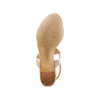 Women's shoes insolia, Jaune, 669-8297 - 19