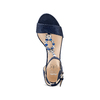 Women's shoes insolia, Violet, 769-9154 - 17