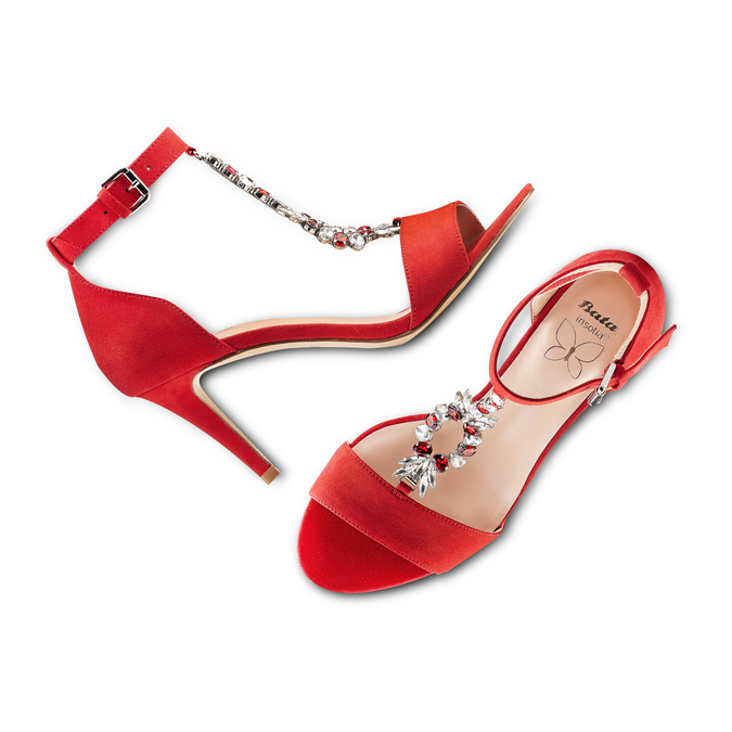 Women's shoes insolia, Rouge, 769-5154 - 26